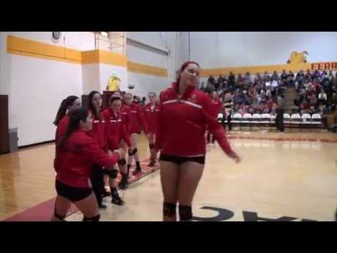 Ferris State Volleyball Weekend Highlights Nov. 6-7, 2015