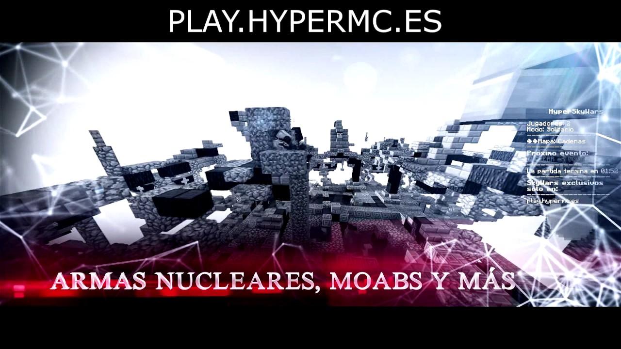 (CERRADO) - HyperMC Network ¡Los SkyWars más únicos te esperan!... ¡Gratis!
