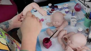 Secrets Revealed #2 - Teaching How To Paint A Reborn Baby Doll