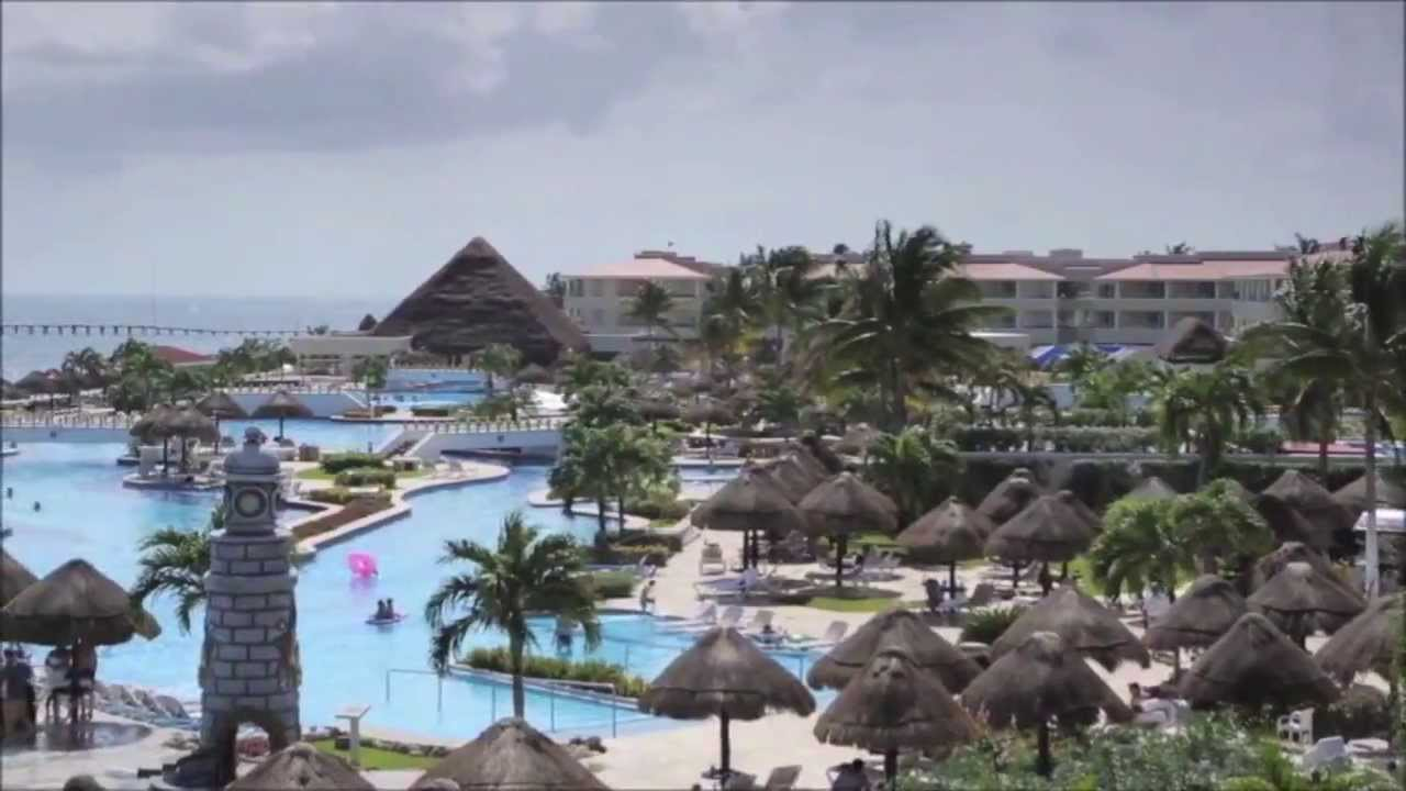 Moon Palace Cancun All Inclusive Resort Promo  YouTube