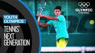 Sebastian Baez takes step by step to become a Tennis pro | Youth Olympic Games