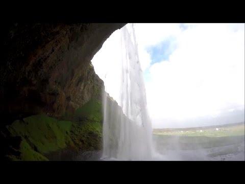 Seljalandsfoss waterfall Iceland HD
