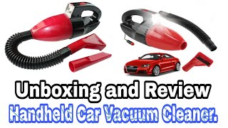 Handheld Car Vacuum Cleaner | Unboxing and Review | TIF Technology | Tanvir Chowdhury |