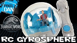 Jurassic World RC Gyrosphere Fallen Kingdom Mattel Toy Video Review