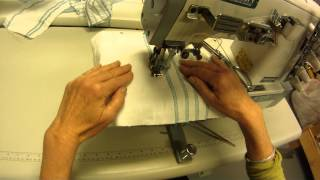 Siruba Coverstitch F007j Sewing Machine - how to lock a coverstitch