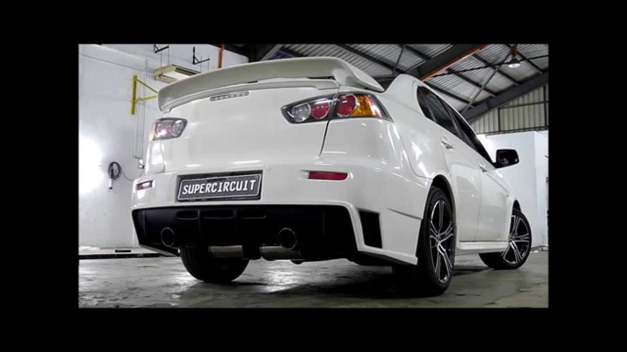 racing gts maxresdefault mitsubishi watch youtube exhaust lancer ultimate