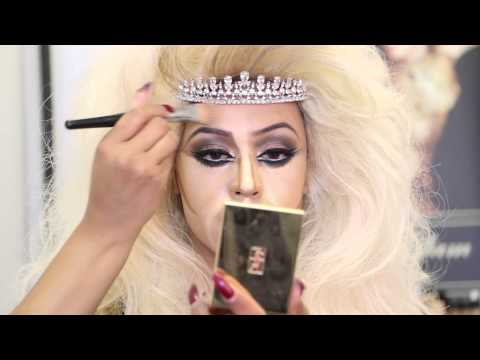 Tutorial:  AsiaGlam RuPaul Inspired Birthday MakeUp