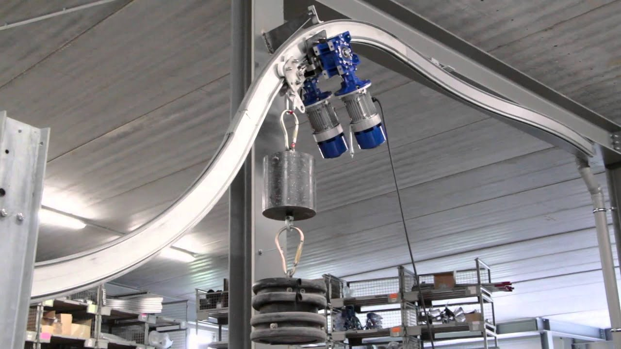 Climbing Monorail System Youtube