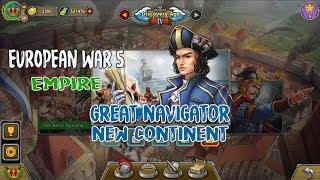 European War 5 Empire The Great Navigator New Continent