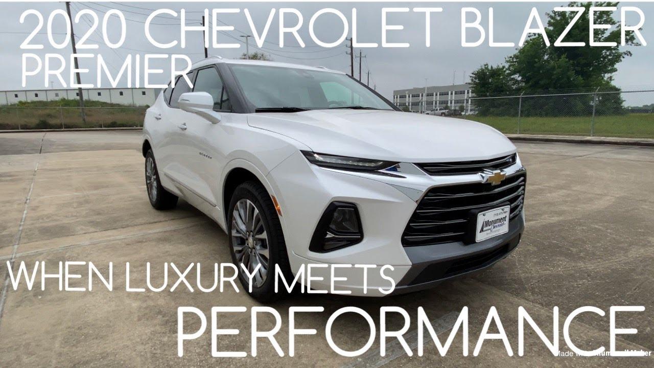 2020 Chevrolet Blazer Premier 3 6l V6 Youtube
