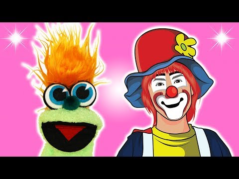 FUNNY CLOWN JOKE! - JOKES FOR KIDS! Circus Fun! 100% Child-Appropriate Jokes! FUNNY! Sock Puppet! Latest Funny Videos