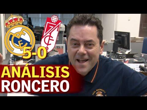 "Real Madrid 5-0 Granada | Roncero canta: ""¡¡Zinedine Zidane, Superstar!!"""