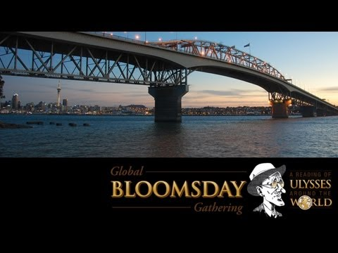 Global Bloomsday Gathering -- Auckland City Library, New Zealand