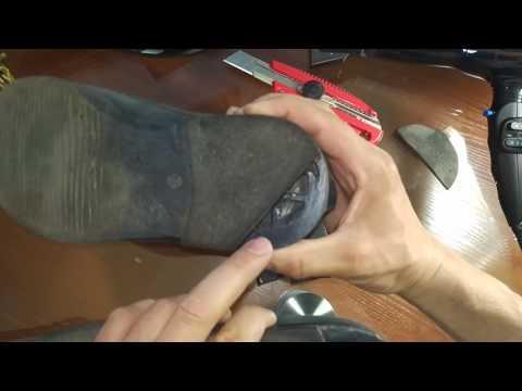 Как поменять набойки Руки на месте