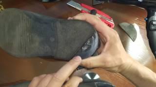 Комбинированные набойки. Замена набойки на туфлях. Ремонт обуви Как самому поменять набойки