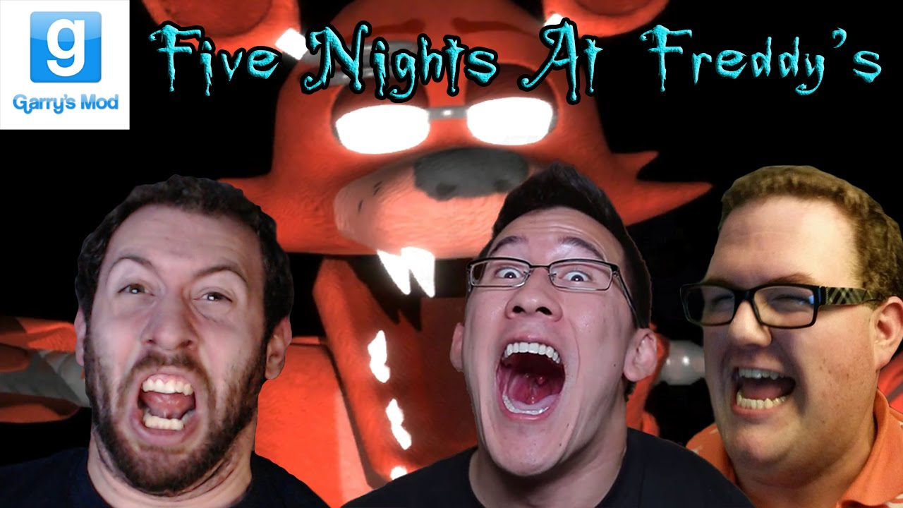 five nights at freddy s gmod horror map part 4 with markiplier and