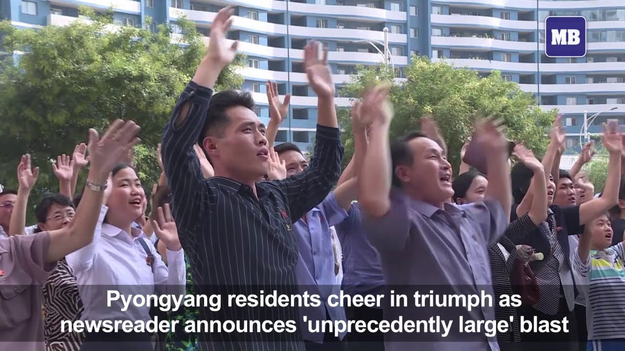 Koreans react to North's announcement of successful H-bomb test