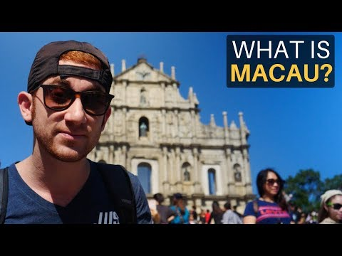 WHAT IS MACAU? (Las Vegas of Asia)