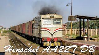 سكك حديد مصر - الهنشل الالماني وحش البضائع - Henschel AA22T DB