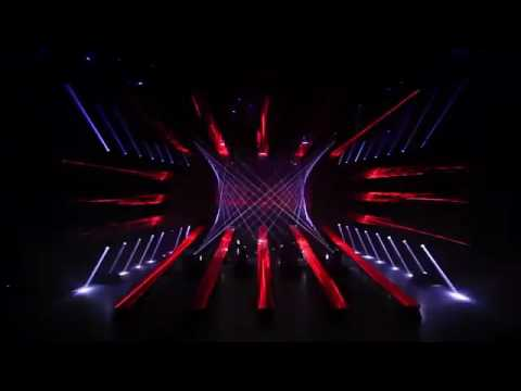 Professional 3D Stage Lighting Show by Hi Ltte in 2016