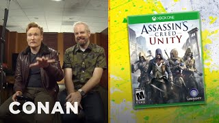 "Clueless Gamer: Conan Reviews ""Assassin's Creed: Unity"" - CONAN on TBS"