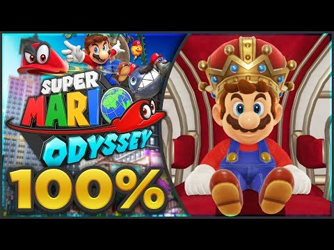 Super Mario Odyssey FINALE - Darker Side 100% All Moons + Sponsor Giveaway! [🔴LIVE]