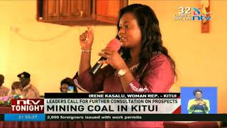 Leaders in Kitui call for further consultation on prospects of coal mining
