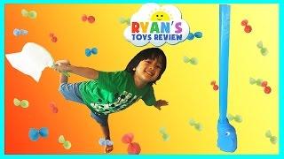 family fun game for kids elefun eggs surprise toys disney toy story ryan toysreview