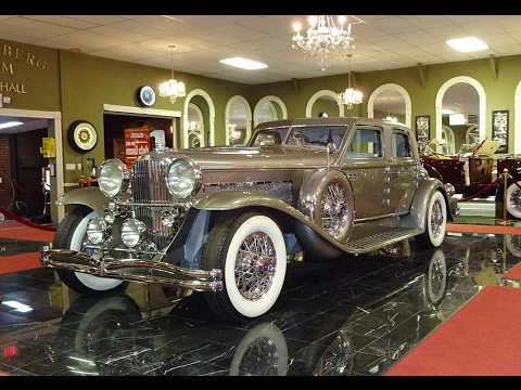 "Duesenberg II Torpedo Sedan "" Twenty Grand "" @ Volo Auto Museum on My Car Story with Lou Costabile"