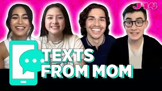 Finding Ohana Netflix Cast Reads Texts From Mom