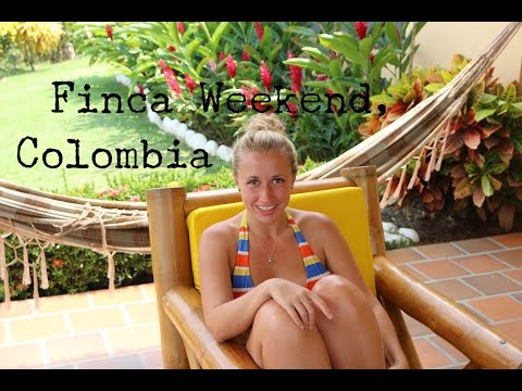 FINCA WEEKEND - COLOMBIA TRAVEL VLOG - The Adventures of Pip & Tobes