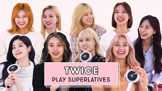 TWICE Reveals Who is the Best Dancer, the Funniest, and More | Superlatives