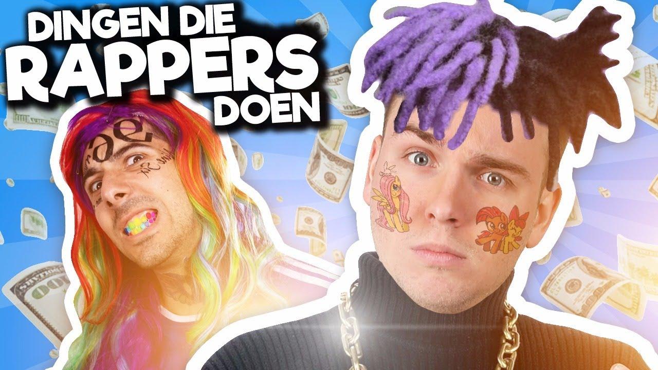 10 DINGEN DIE ALLE RAPPERS DOEN!