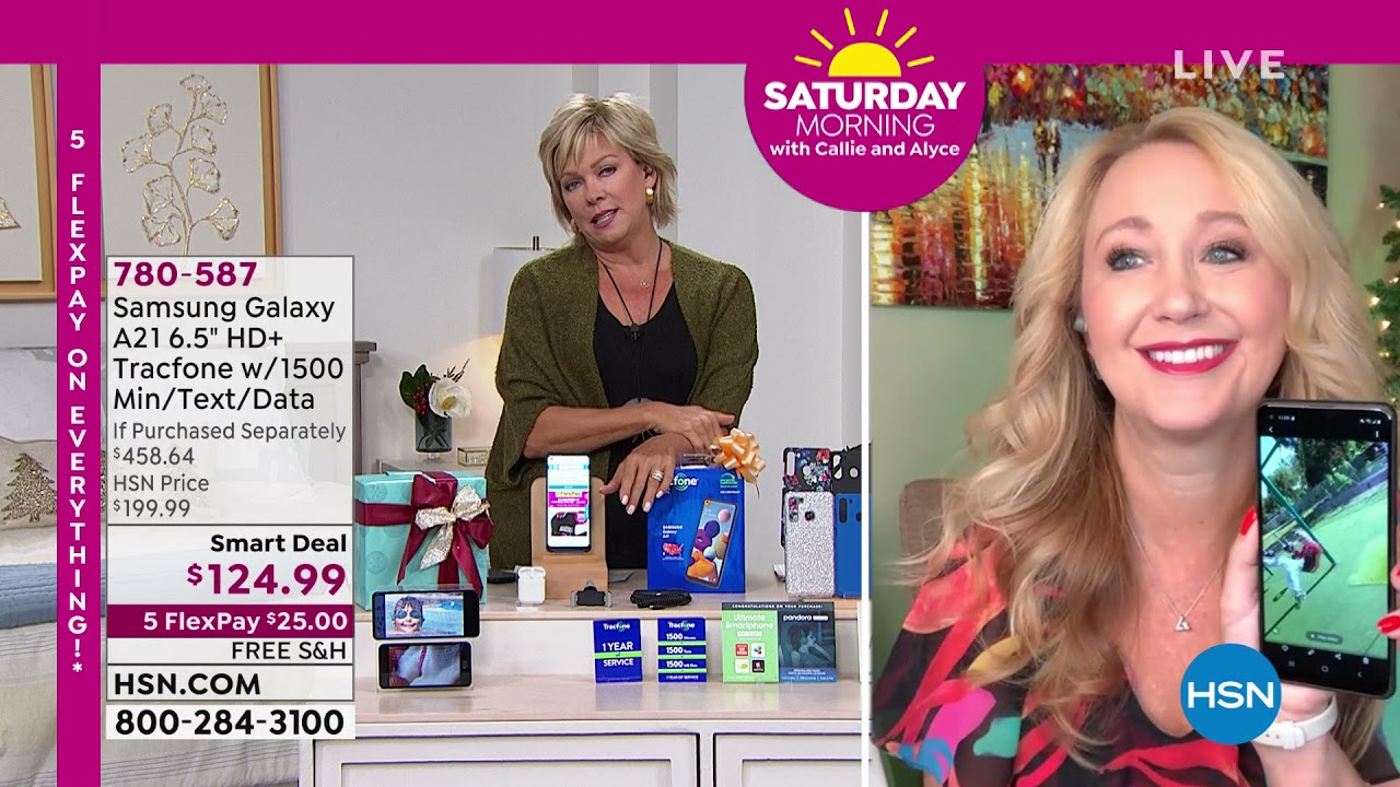Download HSN | Saturday Morning with Callie & Alyce - Gift Edition 10.23.2021 - 11 AM