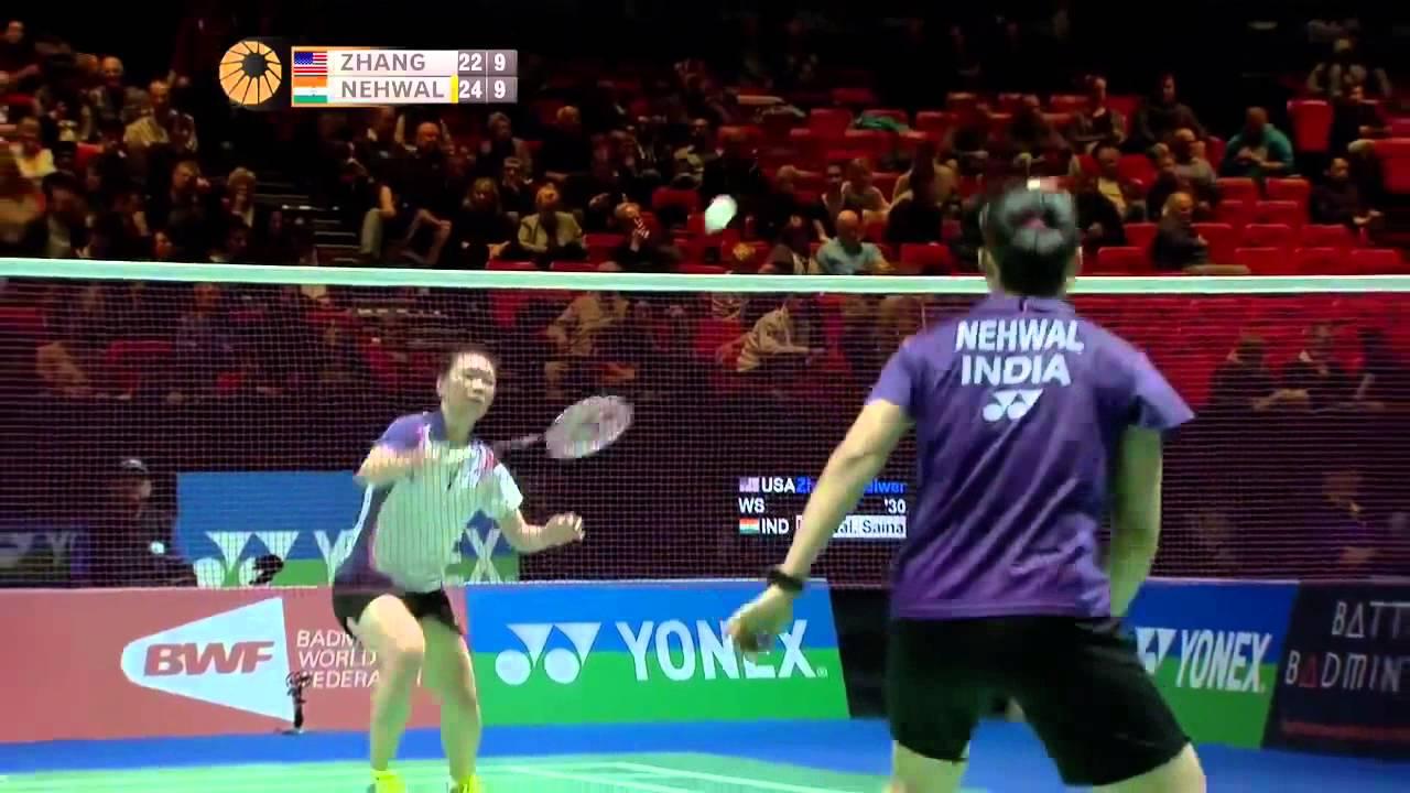 R16 Saina Nehwal vs Zhang Beiwen 2014 Yonex All England Open