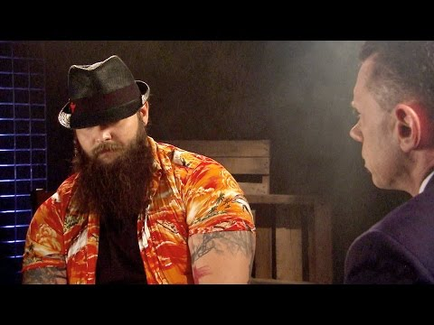 An eerie glimpse into Bray Wyatt's world:   July 15, 2015