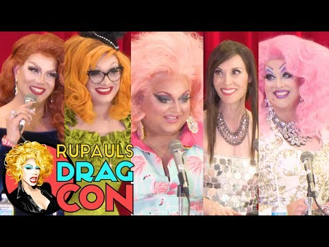 Jinkx Monsoon, Ginger Minj, Alexis Michelle & More | THEATER QUEENS @ RuPaul's DragCon 2017