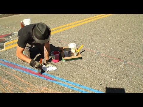 Tracy Lee Stum presents 3D Street Painting – Tony Camarrano Interview