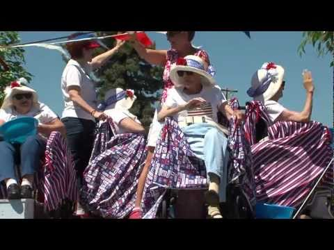 Lake Almanor 4th of July 2011 Parade in Chester California