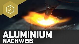 Nachweis von Aluminium
