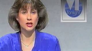 Belleek Co.Fermanagh aftermath of bomb report from UTV 1989