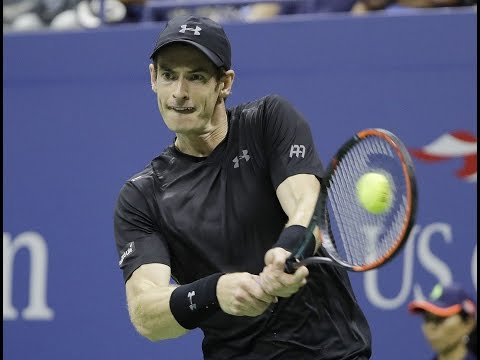 The Latest:  Murray easily beats Dimitrov to reach US Open QF