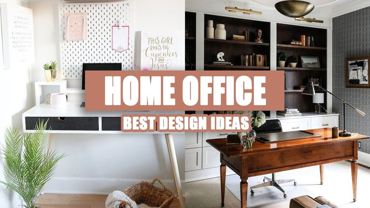 60 Best Home Office Design Ideas For Small Spaces 2020 Youtube