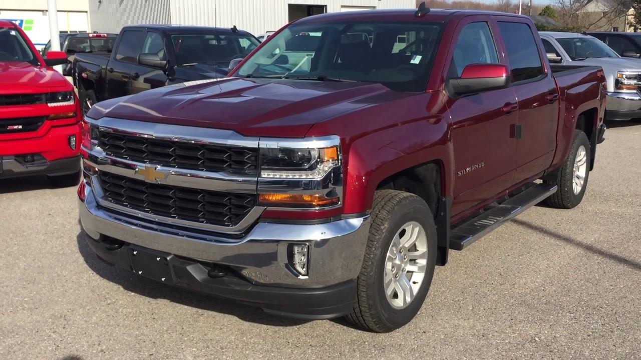 2017 Chevrolet Silverado 1500 Lt Crew Cab Siren Red Tintcoat Roy Nichols Motors Courtice On