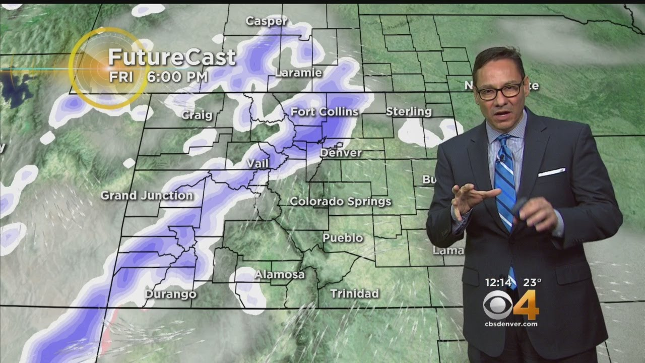 Another Shot Of Snow Moving Our Way