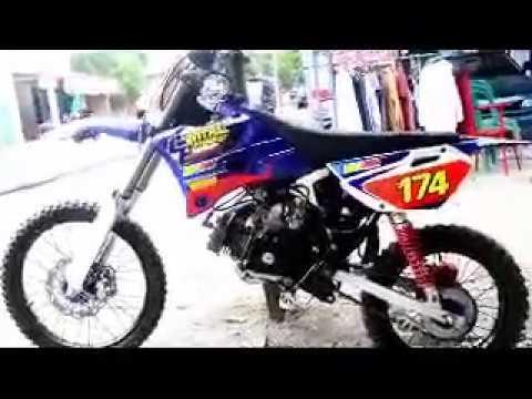 Yamaha F1zr Modif Trail And Decal Custom Yz85 Youtube