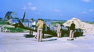World War II Color Images: Demise of German Military Force