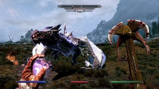 The Elder Scrolls V: Skyrim - Dragon Gameplay (PC, PS3, Xbox 360)