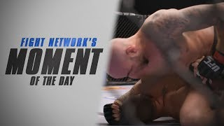 Moment of the Day: Ben Saunders Omoplatas Chris Heatherly at UFC Fight Night 49