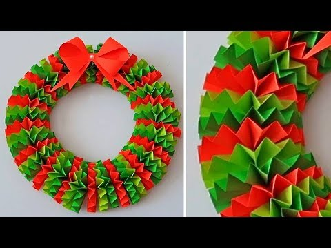 DIY Paper Christmas Wreath | Decoration Ideas for Upcoming Christmas by Julia Datta 0511
